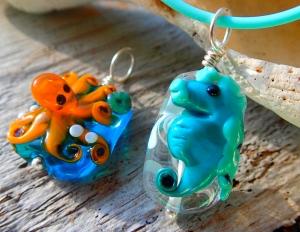 octo & seahorse