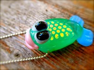 funky fish pendant
