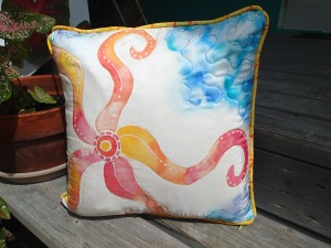 silk starfish pillow