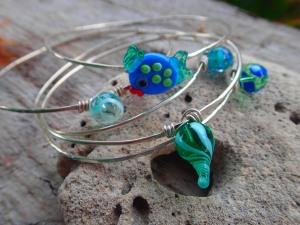 fishy bangles
