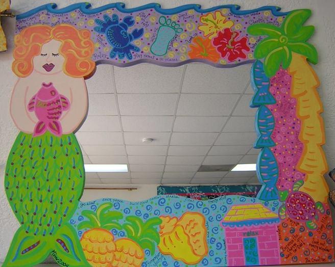 bdd mermaid mirror